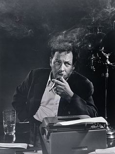 Tennessee Williams, 1956. Photo: Yousuf Karsh.