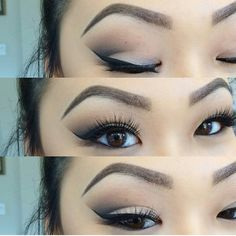 makeup for asian eyes :)