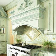 Love the hood over the stove!