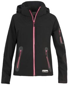 Jacheta femei Liana Black Trespass Hiking Equipment, Athletic, Zip, Jackets, Clothes, Black, Fashion, Down Jackets, Outfits