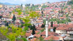 L.A. Times staffer Chris Reynolds snapped this photo of scenic Sarajevo and its red tile roofs and minarets.