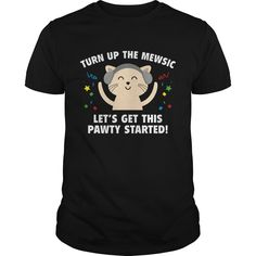 Get yours beautiful Turn Up The Mewsic1 Coolest T Shirt Shirts & Hoodies.  #gift, #idea, #photo, #image, #hoodie, #shirt, #christmas