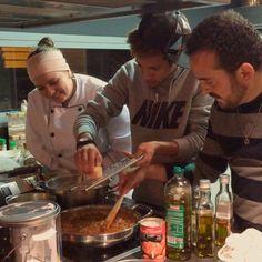 Neymar cooking