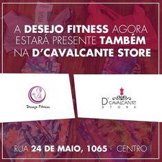 Clientes Revista DÁvila: SUPER NOVIDADE para vocês divas!! Agora vocês poderão encontrar as lindas peças da Desejo Fitness também na D' Cavalcante Store!