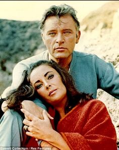 """Richard Burton Elizabeth Taylor """" Burton on Taylor_  """" I might run from her for a thousand years and she is still my baby child. Our love is so furious that we burn each other out."""""""