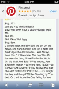 Sad story! Don't listen to the repost thing, I'm only posting the story cuz it's sad, just ignore the #repost thing