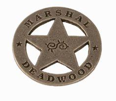 Old West Badge - Deadwood Marshal [001304W]