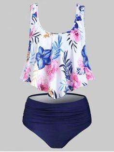 Flower Pattern Flounce Tankini Swimsuit are beautiful lovable andSwimsuit bikin Modest Swimsuits andSwimsuit beautiful bikin Flounce Flower lovable pattern swimsuit tankini Swimsuits For Teens, Tankini Swimsuits For Women, Cute Swimsuits, Tankini Top, Modest Swimsuits, Bathing Suits One Piece, Girls Bathing Suits, Ruffle Swimsuit, Camo Swimsuit
