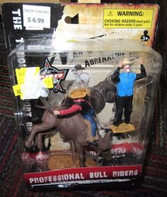 NEW PROFESSIONAL BULL RIDERS PBR ACTION FIGURE RODEO PLAYSET, COWBOY,CLOWN #2 #NEWRAY