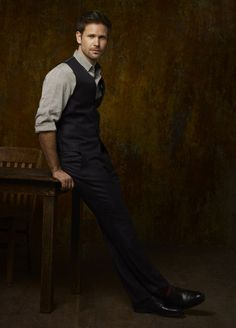 """Matt Davis. I just finished the episode """"Graduation"""" from The Vampire Diaries (SPOILER ALERT) and just FYI: GIVING ME BACK ALARIC FOR LIKE FIVE SECONDS AND TAKING HIM AWAY WAS SOOOO NOT COOL!!! I HAD HOPE AND YOU ROOK IT AWAY!..... stupid writers....."""
