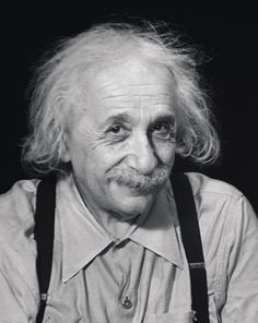 Photograph of Albert Einstein by Marcel Sternberger, Princeton, New Jersey, 1950. Mischievous face. Trouble, trouble, trouble.