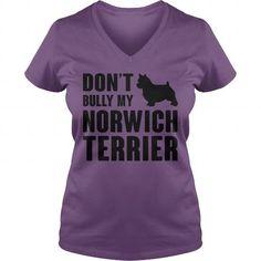 DONT BULLY MY NORWICH TERRIER V-NECKS TEE (==►Click To Shopping Here) #dont #bully #my #norwich #terrier #v-necks #Dog #Dogshirts #Dogtshirts #shirts #tshirt #hoodie #sweatshirt #fashion #style