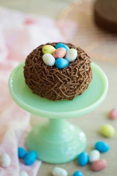 Sweet & Savory Dessert, Drink and Baking Recipes: Preppy Kitchen Fancy Cakes, Mini Cakes, Easter Bunny Cupcakes, Easter Cake, Dessert Parfait, Easter Appetizers, Egg Cake, Delicious Chocolate, Chocolate Cake