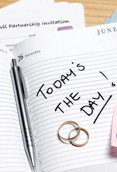 The first couple of weeks that you immerse yourself in wedding planning will feel extra hectic and chaotic, so try to keep yourself organized with a to-do list. Jot down all the tasks you can think of on one document, and add to that list whenever a new thought pops into your mind.