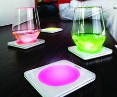 LED Drink Coasters