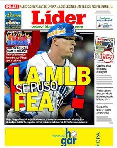 ¡La MLB se puso fea! | El organismo le prohibió a los equipos de las ligas del caribe negociar con peloteros en róster de 40 hasta nuevo aviso | Es nuestra portada del 02 de octubre