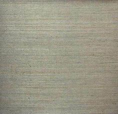 Sample Sisal Wallpaper in Silver Grey from the Winds of the Asian Pacific Collection by Burke Decor