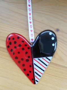 Fused Glass Heart £15.00