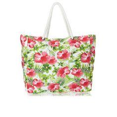 Resultado de imagen para bolsos playeros de flores