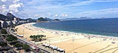 Copacabana, Rio de Janeiro, Brazil. Sobre dormir e acordar com essa vista, já imaginou?  #riodejaneiro #apartamento #apartment #copacabana #realestate #view #aluguel #imoveis #home #lifestyle