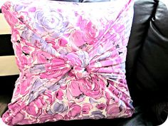No sew pillow cover!