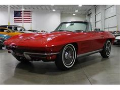"""I think I'll call this the """"Trouble Maker"""", 1964 Chevrolet Corvette."""