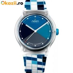 (Limited Supply) Click Image Above: Noon Copenhagen Unisex Kolors Plastic Watch - White Rubber Strap - Blue Dial - Copenhagen, Unisex, Model, Ladies Watches, Jewelry Box, Plastic, Polyvore, Blue, Image