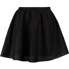 ONLY ELENA Aline skirt ($14) ❤ liked on Polyvore featuring skirts, mini skirts, bottoms, saias, faldas, black, petticoat skirt, short mini skirts, short skirts and zipper skirt