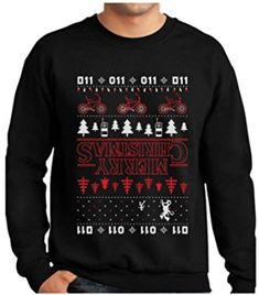This Stranger Things inspired sweater that would've kept Barb warm in the Upside Down. | 24 Really Cool Gifts For All The Geeks In Your Life