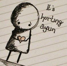 when a heart breaks you know it dont break even .