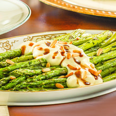 Roasted Asparagus with Parsnip Puree - Wegmans