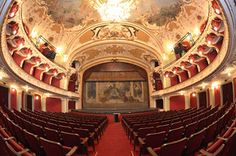 Inside the National Theater, Iasi, Romania