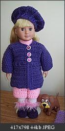 Free Crochet AG Momma Purple is on sale! Pattern.