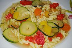 15 Minuten - Gemüse - Nudel - Suppe (Rezept mit Bild) | Chefkoch.de