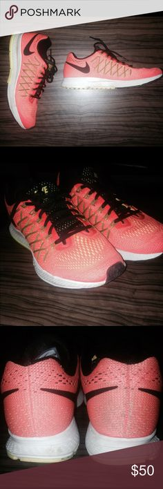 Nike Air Zoom Pegasus 32 Only worn couple times. Really good shape. Size: 8 womens Nike Shoes Sneakers