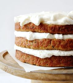 This Zucchini Banana Cake with Whipped Cream Cheese Frosting is the perfect marriage of light and sweet! #zucchinicake #bananacake #zucchinibananacake #whippedcreamcheese #creamcheesefrosting #whippedfrosting #iambaker #dessert #cake #baking #recipes Whipped Cream Cheese Frosting, Cake With Cream Cheese, Cookie Desserts, Cookie Recipes, Zucchini Banana Bread, Single Serve Desserts, Baker Recipes, Dessert Bread, Banana Recipes
