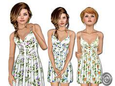 Cotton Sundress by pizazz - Sims 3 Downloads CC Caboodle