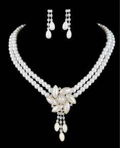 Pearl Necklace Earring Set Pearl Set Designs, View Pearl Set Designs, Rinhoo Product Details from Yiwu Rinhoo Jewelry Co., Ltd. on Alibaba.com