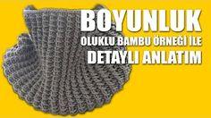 Dikişsiz boyunluk yapımı - Derya Baykal ile Derya'nın Dünyası - YouTube