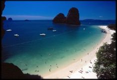 Railay Beach - Southern Thailand   Rock Climbing Mecca of the World