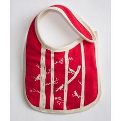 PACT : Girls' Wild Rose Bib. The cutest little bib out there. And it's organic & made at a Fair Trade Certified Factory!