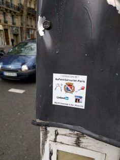 Ad in the street: Also a way to increase your traffic! #Adinthestreet #IncreasingAudience