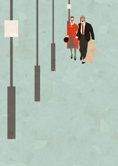 Breakfast at Tiffany's (1961) ~ Minimal Movie Poster by Christine Cuddihy #amusementphile