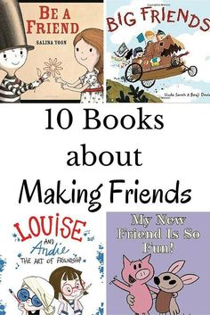 Top Ten Everyday Living Insurance Plan Misconceptions A Collection Of Books To Help Kids Make Friends. These Ten Titles Are Great For Sparking A Conversation With Kids About Making New Friends. Preschool Books, Book Activities, Preschool Bulletin, Sequencing Activities, Preschool Literacy, Early Literacy, Kids Reading, Teaching Reading, Reading Lists