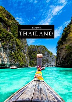 The best Destinations in Thailand, from Major Monuments to Secret Local Spots……