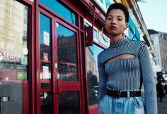 "aleworldaddict: ""'Best New Girl' Lineisy Montero by Willy Vanderperre for V Magazine Fall 2015 "" Lineisy Montero, Fashion Photography Inspiration, Fashion Inspiration, V Magazine, Portraits, Urban Street Style, Black Models, Sporty Style, New Girl"