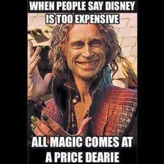 Disneyland, Disney Store, Disney anything!!!