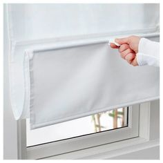 How to Pull Down Blinds without Strings . How to Pull Down Blinds without Strings . 3 Simple Ways to Work Blinds Wikihow Ikea Curtains, Panel Curtains, Mini Blinds, Blinds For Windows, Pull Down Blinds, Rideau A Lamelle, Lights, Ideas, Windows