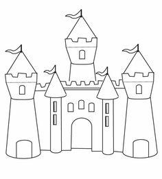 castillo de la princesa sofia para colorear - Buscar con Google
