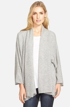 Nordstrom Open Front Cashmere Cardigan available at #Nordstrom